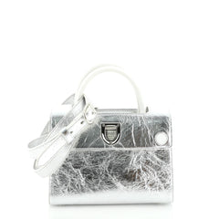 Diorever Handbag Leather Mini