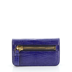 Jennifer Clutch Alligator Small