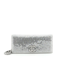 Paris-Dubai CC Chain Clutch Crystal