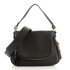 Jennifer Convertible Shoulder Bag Leather Medium