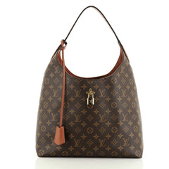Louis Vuitton Flower Hobo Monogram Canvas
