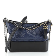 Gabrielle Hobo Quilted Aged Calfskin Medium