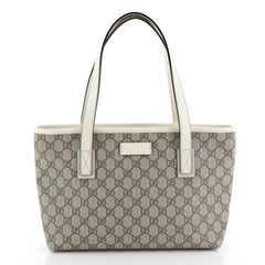 Gucci Plus Tote GG Coated Canvas Small