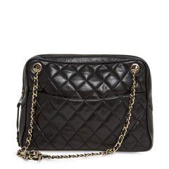Chanel Camera Bag Quilted Lambskin Medium