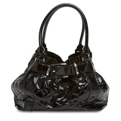 Burberry Beaton Bag Quilted Patent Large