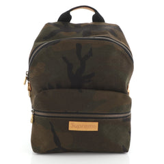 Apollo Backpack Limited Edition Supreme Camouflage Canvas