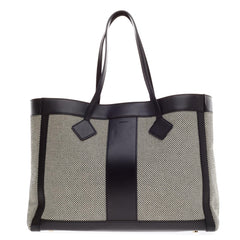 Jason Wu Grand Tourista Leather and Canvas Tote