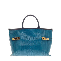 Chloe Charlotte Tote Python Large