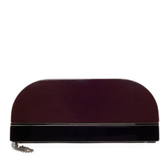 Stella McCartney Chain Clutch Faux Leather