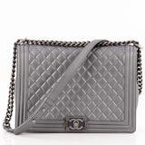 Chanel Boy Flap Quilted Calfskin Large