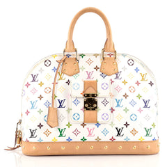 Louis Vuitton Alma Handbag Monogram Multicolor GM