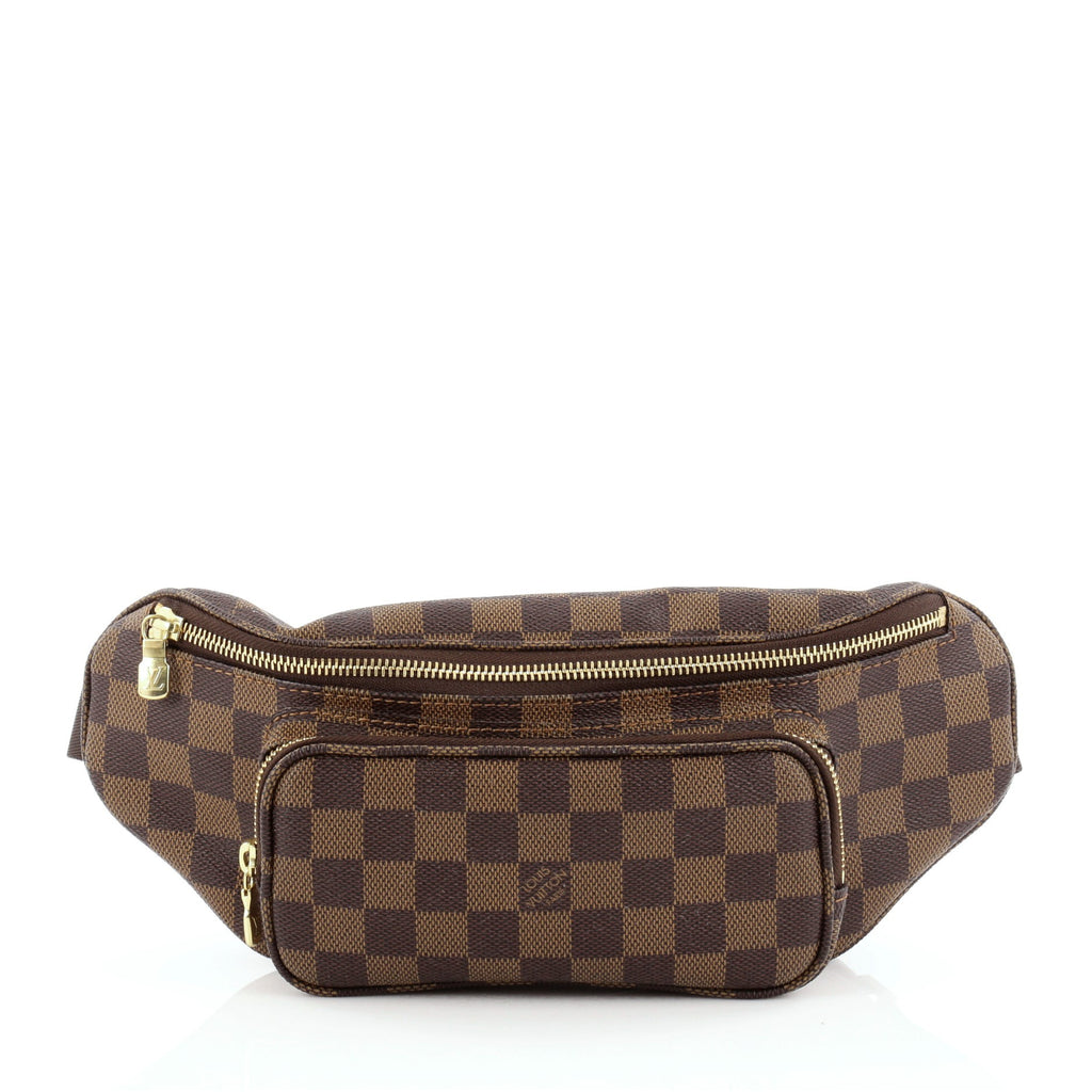 889a69518678 Buy Louis Vuitton Melville Waist Bag Damier Brown 952701 – Rebag