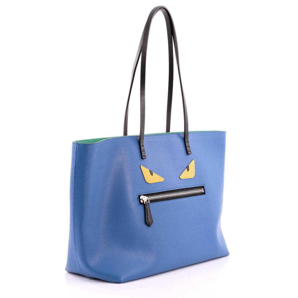 Fendi Monster Tote Yellow