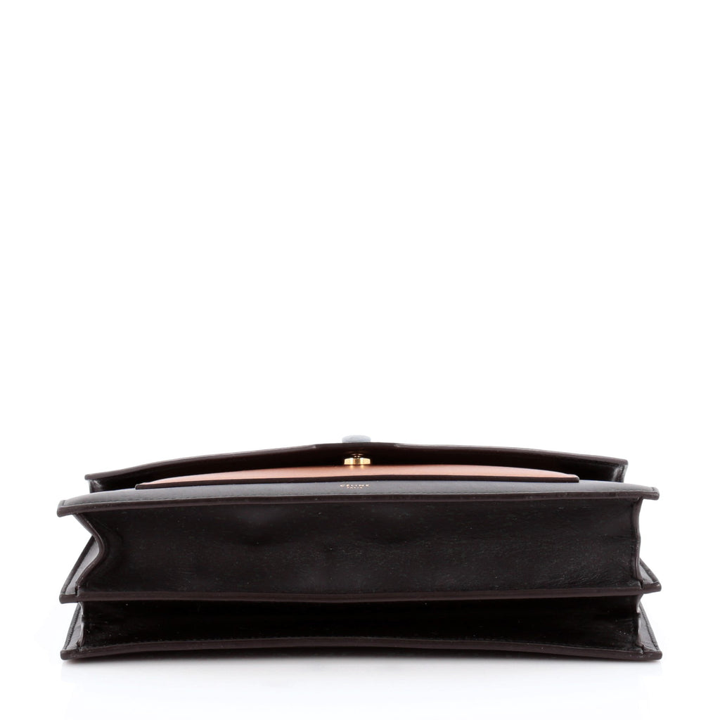 Buy Celine Pocket Envelope Shoulder Bag Leather with Suede 981901 ... 0702f8bb9e0a2