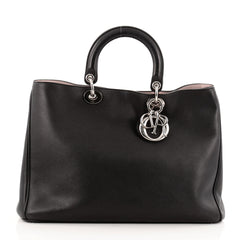 Christian Dior Diorissimo Tote Smooth Calfskin Large