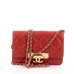 Chanel Golden Class Wallet on Chain Quilted Lambskin