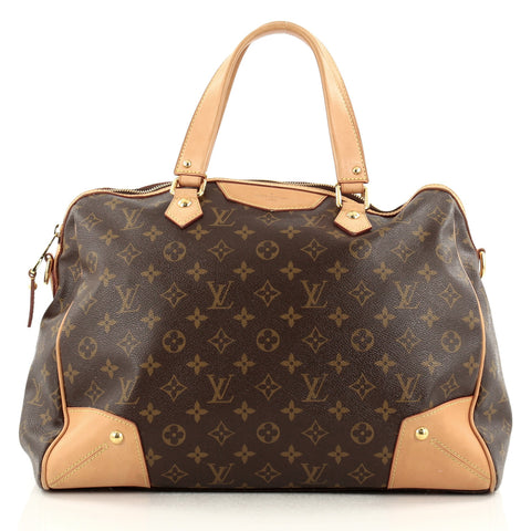 9be6b07eb7f0 Retiro Handbag Monogram Canvas GM