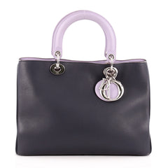 Christian Dior Diorissimo Tote Smooth Calfskin Medium