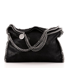 Stella McCartney Falabella Fold Over Shaggy Deer
