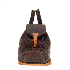Louis Vuitton Backpack Montsouris Monogram Canvas GM