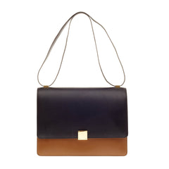 Celine Box Bag Leather Large