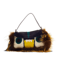 Fendi Baguette Shearling Fur Monster