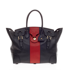Ralph Lauren Ricky Satchel Leather 33