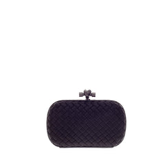 Bottega Veneta Box Knot Clutch Satin Small