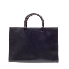 Gucci Bamboo Handle Tote Leather Medium
