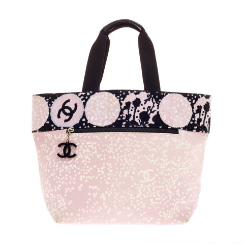 afeaa2cf125117 Buy Chanel Beach Tote Terry Cloth and Canvas Small White 111526 – Rebag