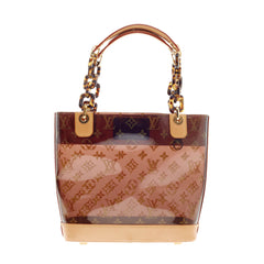 Louis Vuitton Ambre Sac Cabas Monogram Vinyl PM