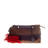 Fendi By The Way Satchel Springbok Fur Small
