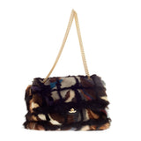 Chanel Arm Candy Multicolor Flap Mink Large