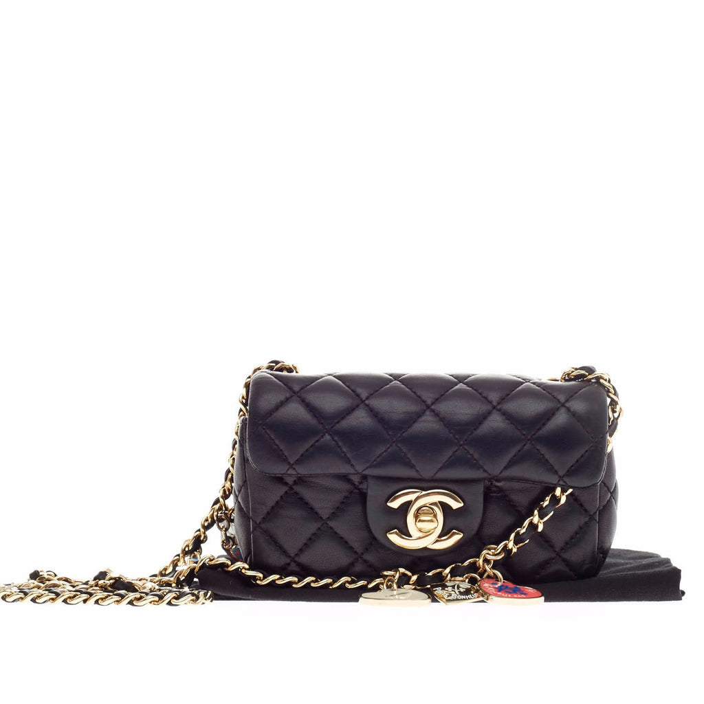 Buy Chanel Valentine Hearts Flap Bag Quilted Lambskin Extra 126213 ... : chanel mini quilted bag - Adamdwight.com