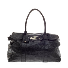 Mulberry Bayswater Tote Shimmery Textured Leather