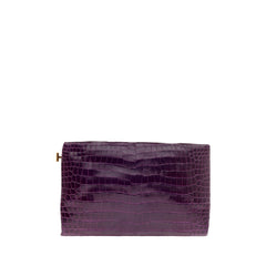 Tom Ford Frame Clutch Crocodile