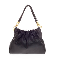 Tom Ford Wrapped Chain Handle Bag Leather