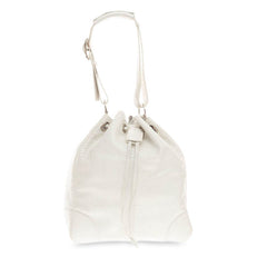 Ralph Lauren Drawstring Bucket Bag Python