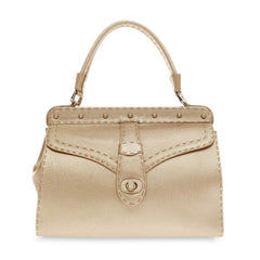 Valentino Frame Handle Bag Leather