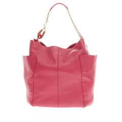 Jimmy Choo Anna Tote Leather