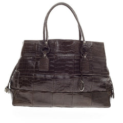 Tod's Tote Alligator Large