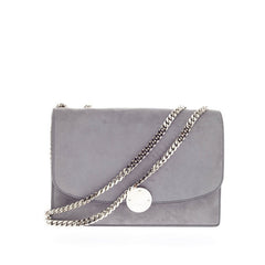 Marc Jacobs Trouble Chain Flap Bag Suede