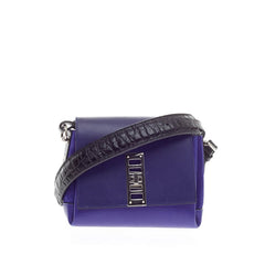 Proenza Schouler Elliot Crossbody Leather and Suede Mini