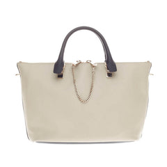 Chloe Baylee Satchel Bicolor Leather Medium