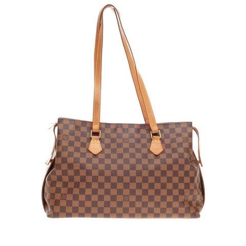 cc5d463ce7ac Buy Louis Vuitton Chelsea Handbag Centenaire Damier Brown 185205 – Rebag