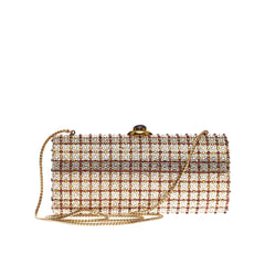 Judith Leiber Long Minaudiere Crystal