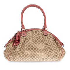 Gucci Sukey Boston Diamante Canvas
