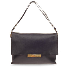 Celine Blade Shoulder Bag Leather