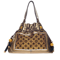 Louis Vuitton Sunbird Limited Edition Monogram Lurex Canvas