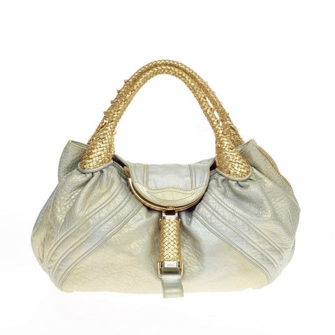 6a4be1faf2a8 Buy Fendi Spy Bag Leather Gold 196301 – Rebag